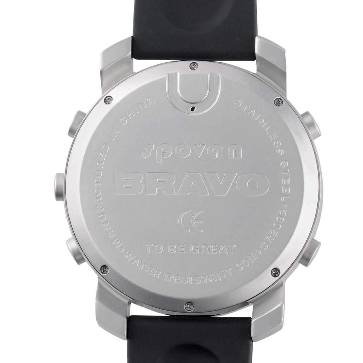 IWO8/W54 OGEDA лучший бренд класса люкс мужские часы серии 4 водонепроницаемые Модные Casul спортивные Цифровой Секундомер резиновый ремешок часы ... - 5