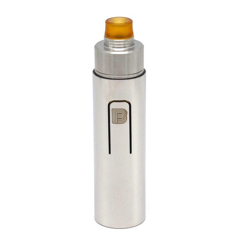 Kit de vaporisation ULTON Bestia 18650 Style Animal 24mm (acier inoxydable) tube de vaporisation Mod + lot de décalage ULTON 2 style 22mm RDA