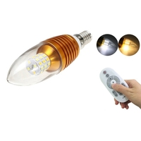 2700 6500K 5W 40 LED Lamp Bulb 220V E14 Chandelier Candle Dimmale LED Light Bulb Spotlight