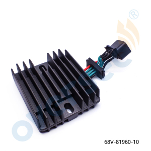 68V-81960 VOLTAGE REGULATOR RECTIFIER Assy Fit Yamaha Outboard F 40HP - 115HP 4T 68V-81960-00 68V-81960-10