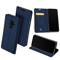 Original DUX DUCIS Leather Case For Samsung Galaxy S9 S9 Plus Cover Luxury Flip Stand Wallet