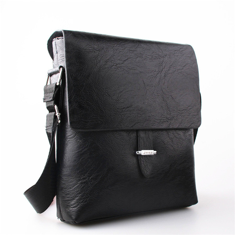 Genuine Leather Men's Bag Casual Business Brand Genuine Leather Mens Briefcase Bag Vintage Men's Shoulder Bag Portfolio Designer