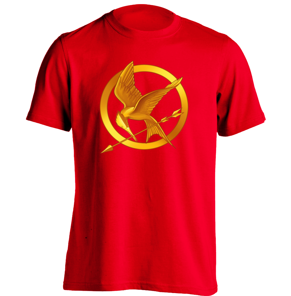 Hunger Games Fire Mens Womens Printing T Shirt Baseball T Shirt