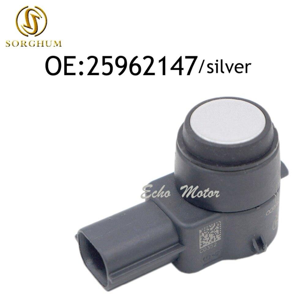 25962147 PDC Parking Backup Bumper Assist Object Sensor For GM 15239247 Silver