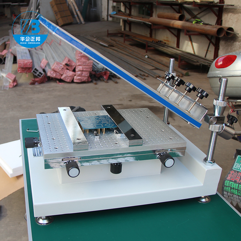Tools : Smt Manual Solder Paste Printer   Best Precision Screen Stencil Printer