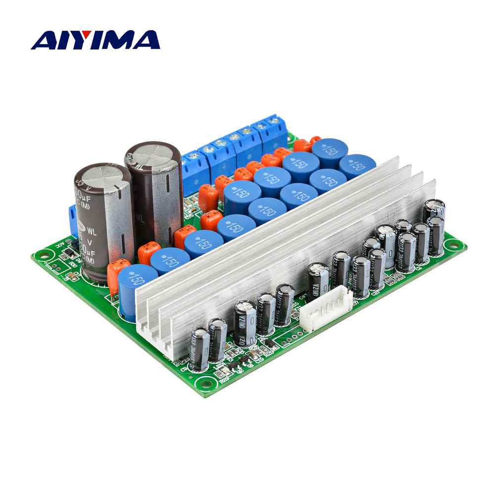 AIYIMA TPA3116 Amplifier Audio Board 5.1 Channel Digital Power Amplifier Board 50W*4 100W*2 DIY 5.1 Home Theater DC12-24V