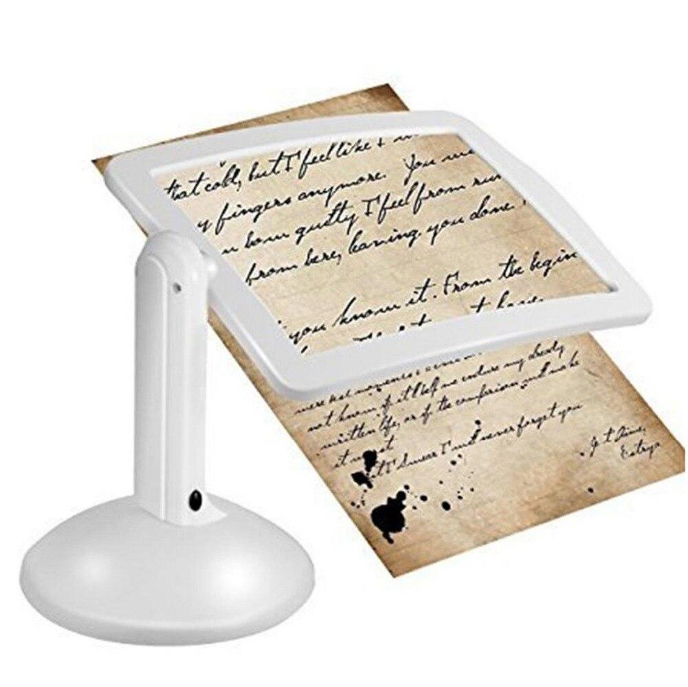 Licht & Beleuchtung Schreibtischlampen 360 Bildschirm Drehen Lesen Handwerk Hände-freies Bauen-in Niedrigen Vision Lupen Lampe Led Vergrößerungs Schreibtisch Lupe Lampe Beleuchtung Hochglanzpoliert