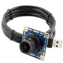 ELP 3264*2448 8 Megapixel hd MJPEG / YUV2(YUYV) CCTV Wide Angle170degree medical board usb camera module for Document Capture