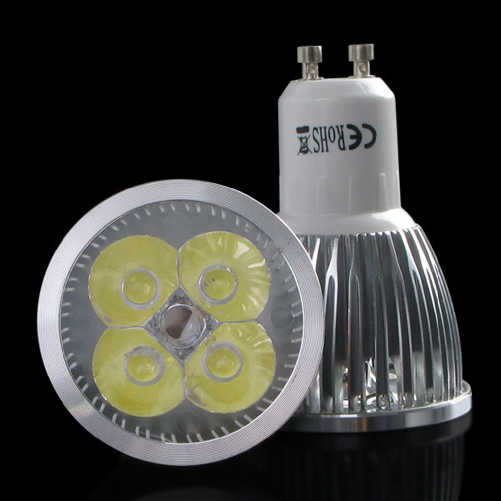 4 x GU10 4W LED SMD Spot Light Bulbs Day/Warm White High Power