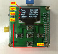 1 500Mhz OLED RF Power Meter To Power Set RF Attenuation Value