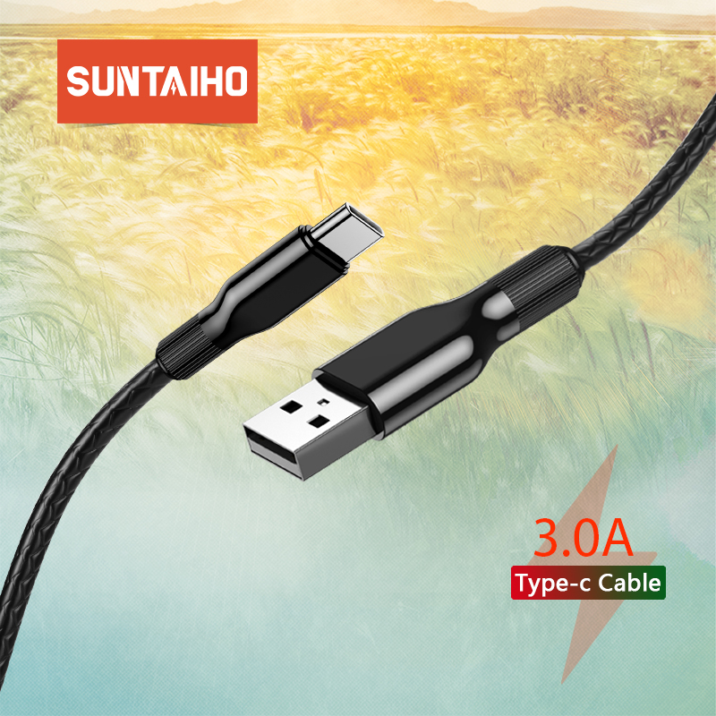 Suntaiho C-Cable Charge-Cord Usb-Type Xiaomi Redmi Fast-Charging-Wire Mobile-Phone For Samsung