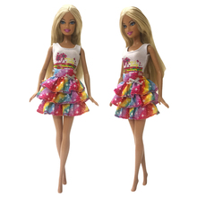 5 Pcs Handmade Clothes For Barbie Doll