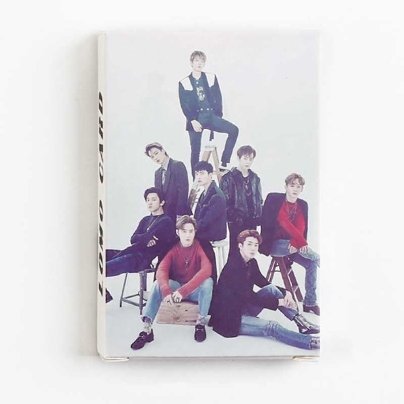 Nuovo Arrivo 32 pz/set K-pop EXO Carte di Carte di Nuovo Modo di Auto Made Carta Fotografica Album Lomo Photocards