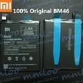 100% original, genuina bm46 4000 mah batería para xiaomi redmi note 3 xiao mi hongmi note 3 pro