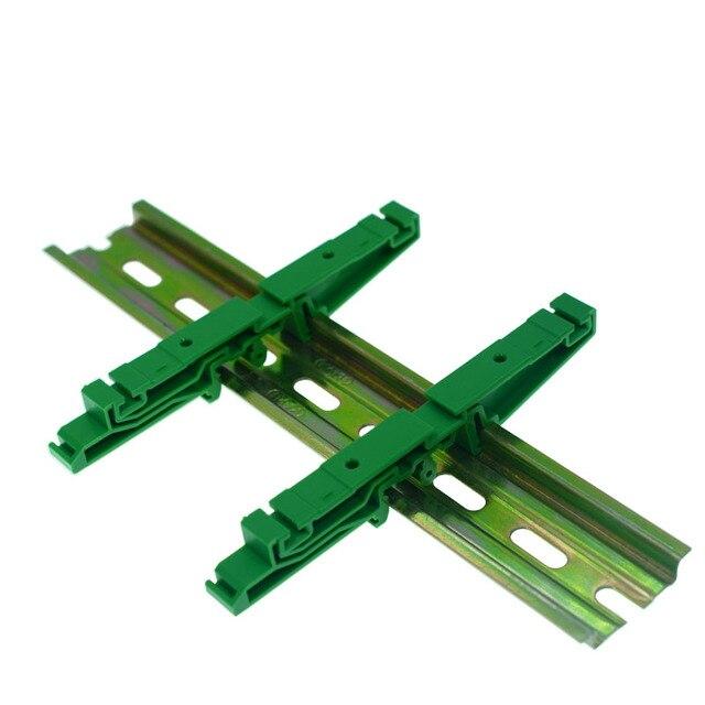 """המעגלים PCB הרכבה סוגר להרכבה מסילת DIN הרכבה 2x מתאם + ברגי 4x DRG-03, המגרש חור הוא 45 מ""""מ"""
