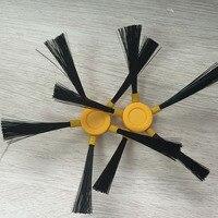 Vacuum Cleaner Accessories Pack For DEYIQI M790 Side Brush X 4pcs 2set Pentagon Brush