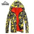 3in1 Сноуборд Открытом Воздухе Непромокаемую Куртку Мужчины Походы Весте Homme Камо Пальто Ветровка Бренд Одежды Jaqueta Masculina