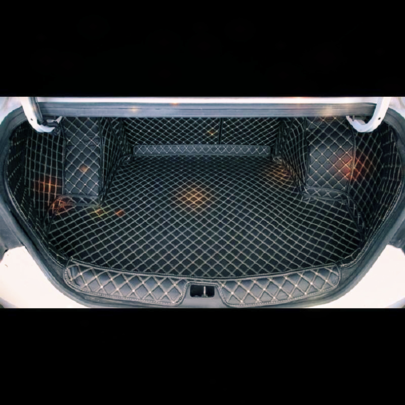 Parts Mouldings Auto Modified Car styling Protector Maletero Coche Trunk Mat Automobile Cargo Liner 17FOR Honda