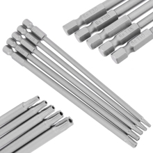5Pcs 150Mm Torx Screwdriver Bits Long Magnetic Electric Set Multifunction Tools T10-T30