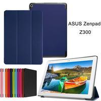 XSKEMP Tablet Case For ASUS ZenPad 10 Z300C Z300CL PU Leather Tablet Case Cover Slim Kickstand