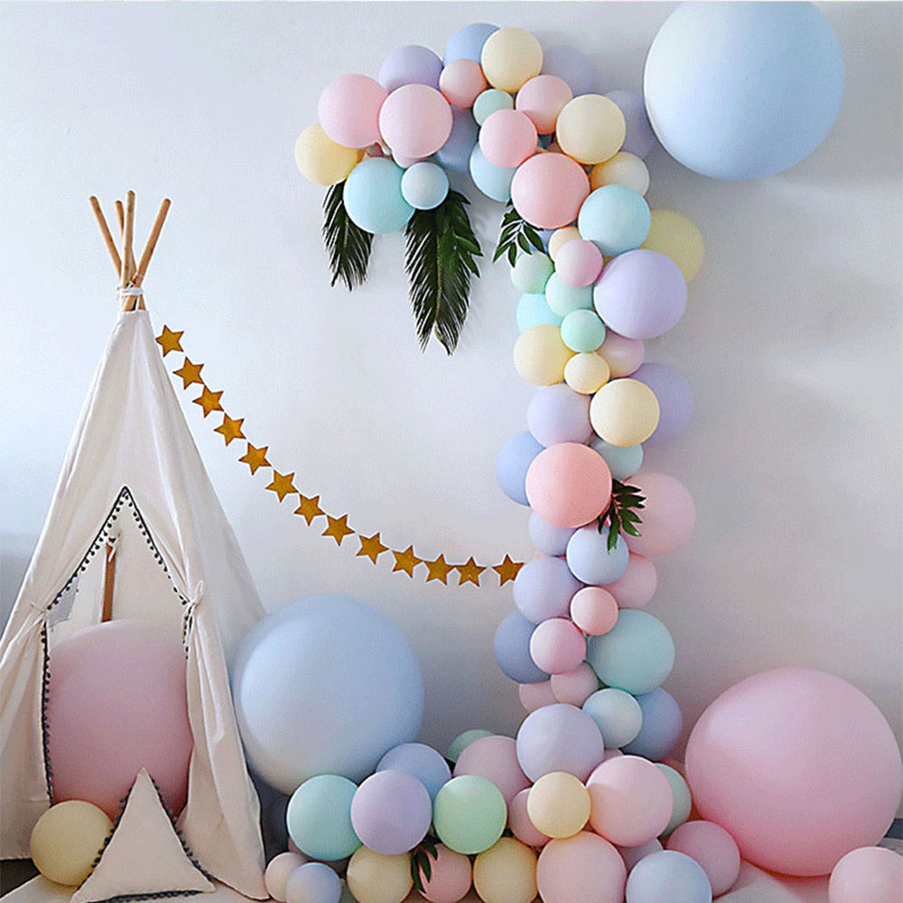 30pcs 5/10 inch Macarons Latex Ballon Birthday Party Candy Balloons Birthday Party Decorations Kids Baby Shower Wedding Golobos 4