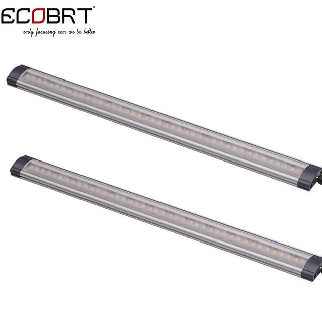 moderne 12 v keuken led onder kast verlichting buizen 50 cm lange 5 w aluminium lineaire