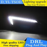 Car styling For Buick regal LED DRL For regal led daytime running lights High brightness guide LED DRL