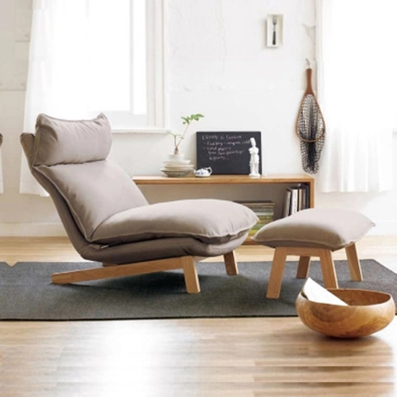 Couches Chair-Recliner Bean-Bag Sofas Living-Room-Furniture Stool-Set Bed For Lazy 74--100--93cm
