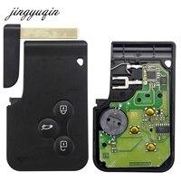 Jingyuqin Smart Key Card For Renault Megane II Scenic II Grand Scenic 2003 2008 433mhz PCF7947