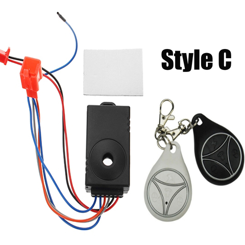 48V-60V Scooter Remote Control Anti Theft Alarm Security System Home Security Safety Motorcycle Bike Lahore