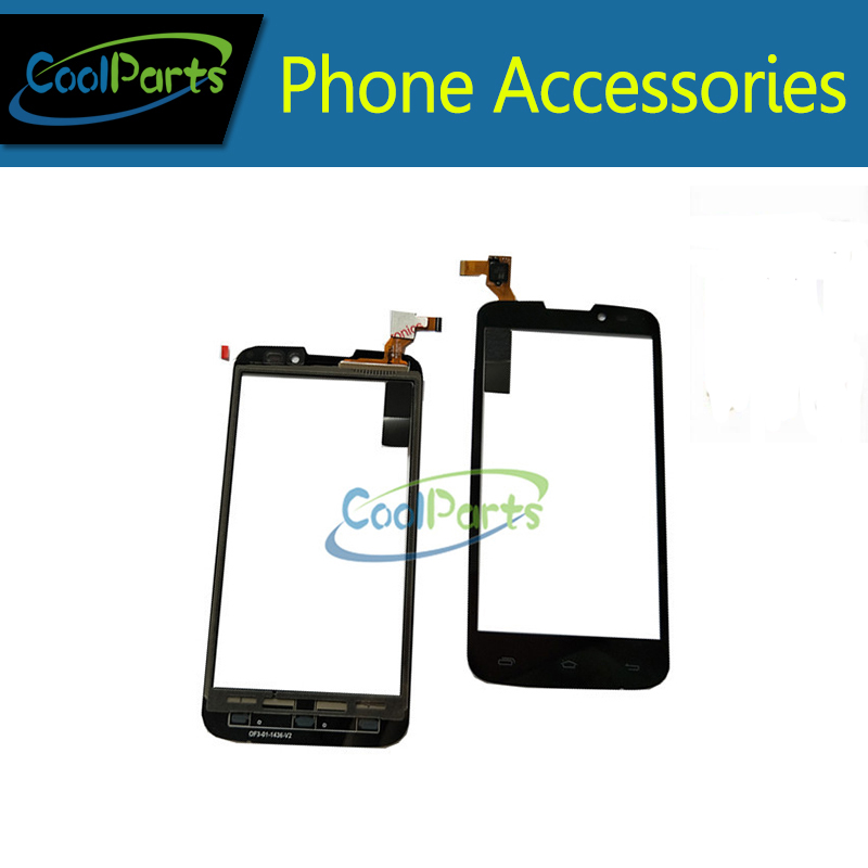 1PC/Lot 5.0 Inch For Prestigio MultiPhone PAP 5517 DUO PAP5517 Touch Screen Digitizer Touch Panel Glass Black Color