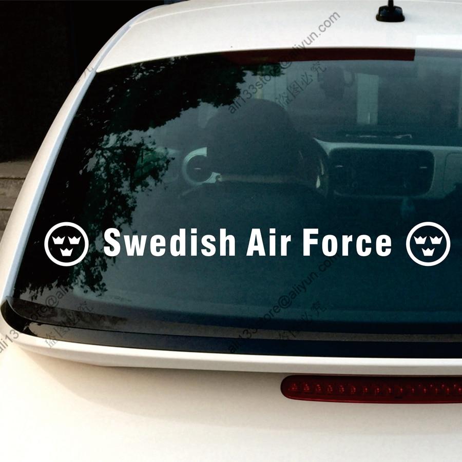 Car bumper sticker design - Swedish Air Force Flygvapnet Car Decal Sticker Vinyl Window Bumper Die Cut No Background Choose