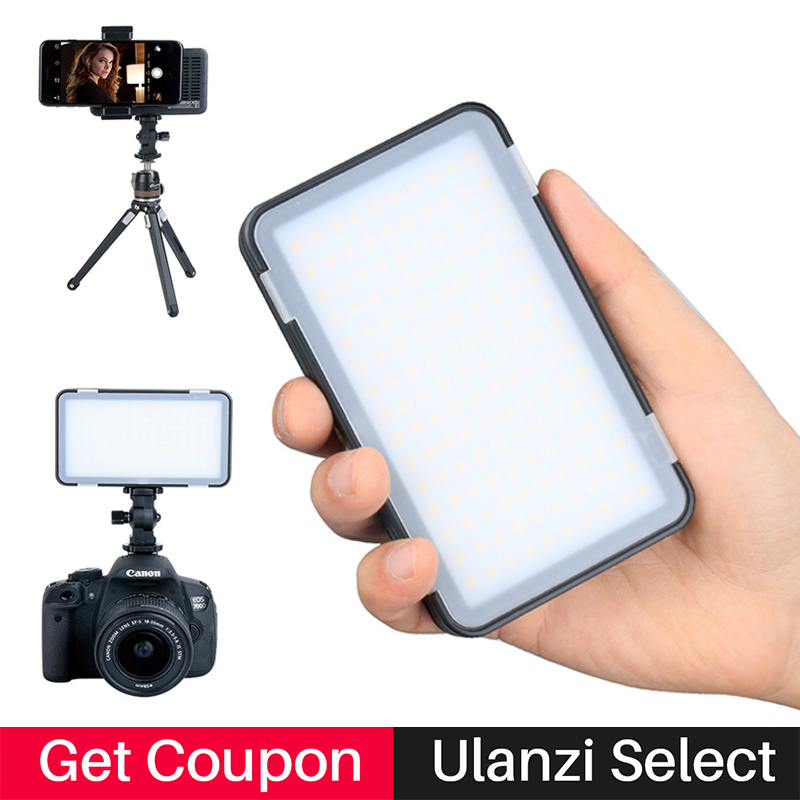 Godox Brightest Mini Camera LED Video Light Built-in Lithium Battery USB Video Recording Macrophotography Light for Phone/DSLR ...