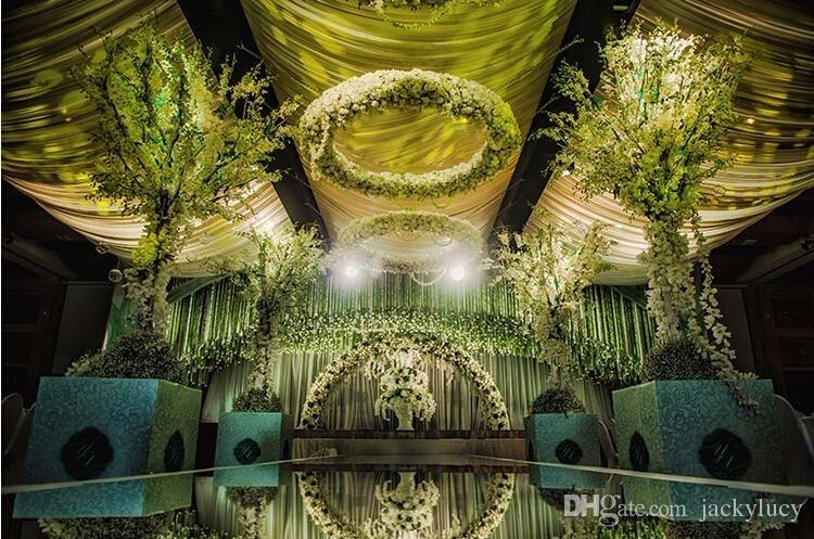 10м / ролл Luxury Wedding Centerpieces Алтын күміс - Мерекелік және кешкі заттар - фото 4