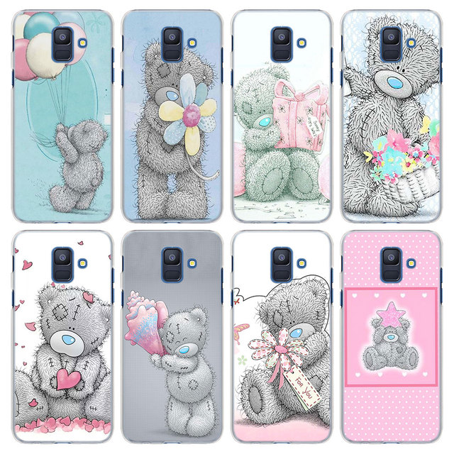 Tatty Teddy Me To You Pattern Transparent frame hard Case Cover for ...