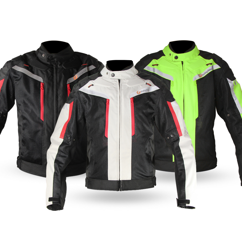 Riding Tribe Motorcycle Racing Suit Protective Gear Armor Windproof Motorcycle Jacket+Motorcycle Pants Hip Protector Moto Set