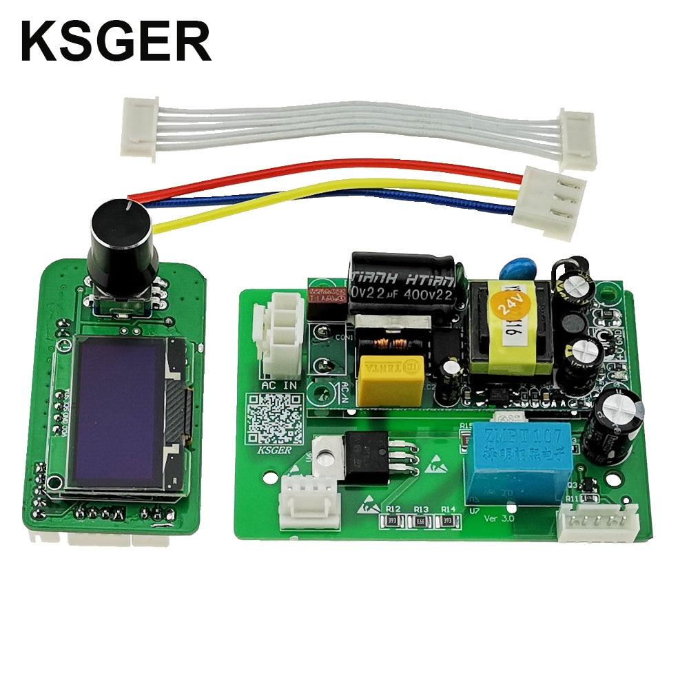 KSGER Heißluft Pistole SMD Station DIY Kits OLED Controller Elektrische Power Werkzeuge Trockner 700W Schlaf Modus Düsen Entlöten schnell