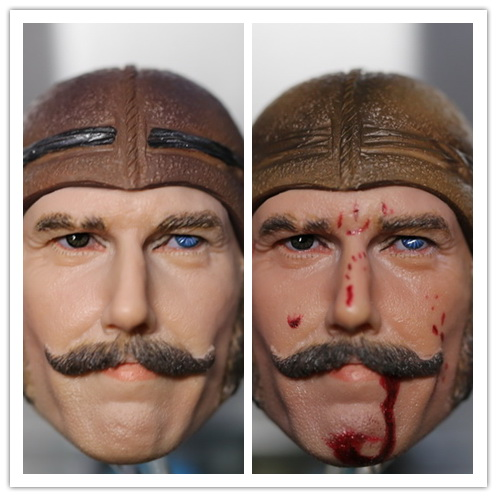 1:6 scale male Figure accessories Gangs of New York  Bill 'The Butcher' Cutting head shape carved for 12 Action figure doll 1 6 scale figure head shape for 12 action figure doll rise of the planet of the apes caesar doll head for figure accessories