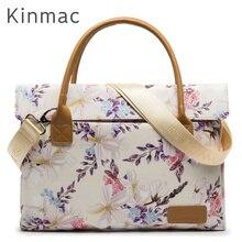 """2020 nouvelle marque Kinmac Lady sac ordinateur portable sac 13 """",14"""",15 """",15.6"""", messager femmes étui pour MacBook Air Pro, livraison gratuite KC32"""