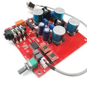 TPA6120 A2 Hi-Fi Headphone Audio Amplifier Board Fever Audio Earphone headset Amp OP275 Preamplifier AMP Tone board