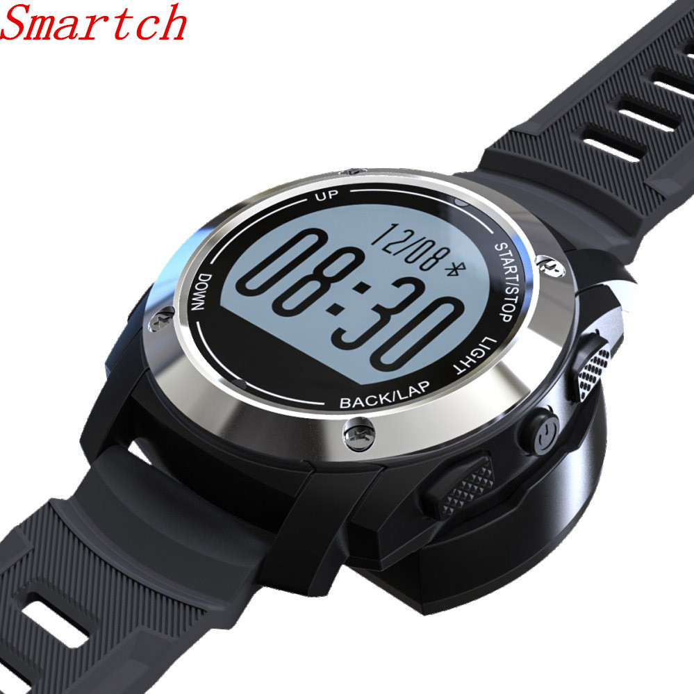 GPS Smart Watch Waterproof Smartwatch Heart Rate Monitor ...