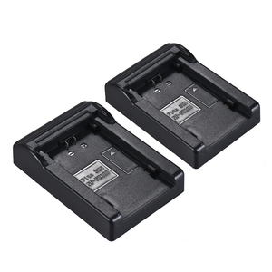 Image 3 - 2pcs LP E6 Battery Plate for Neweer Andoer Dual/Four Channel Battery Charger for Canon EOS 5DII   5DIII 5DS 5DSR 6D 7DII 60D