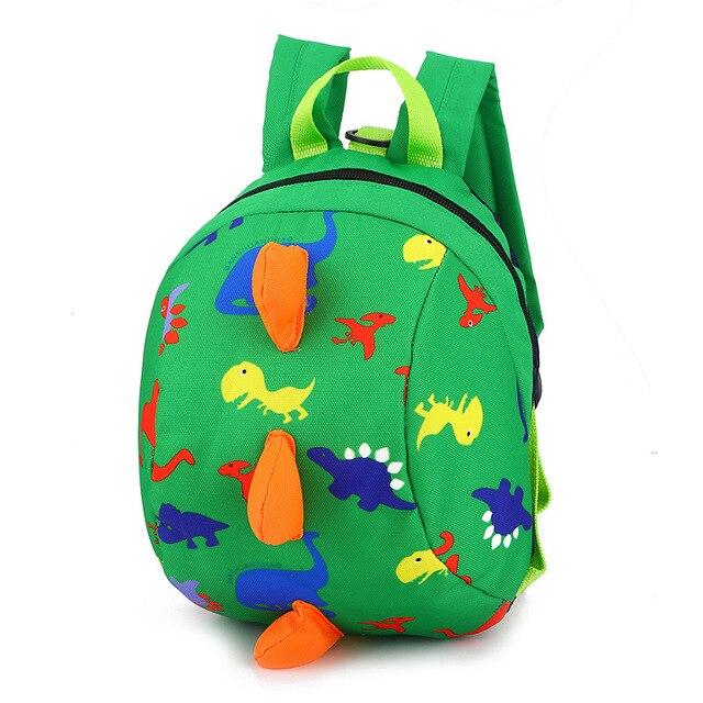 3D Dinosaur Kindergarten Backpack Children Canvas Backpacks Kids Small  SchoolBags Girls Cute Cartoon Animal Mochila Infantil 431c92a3ee811