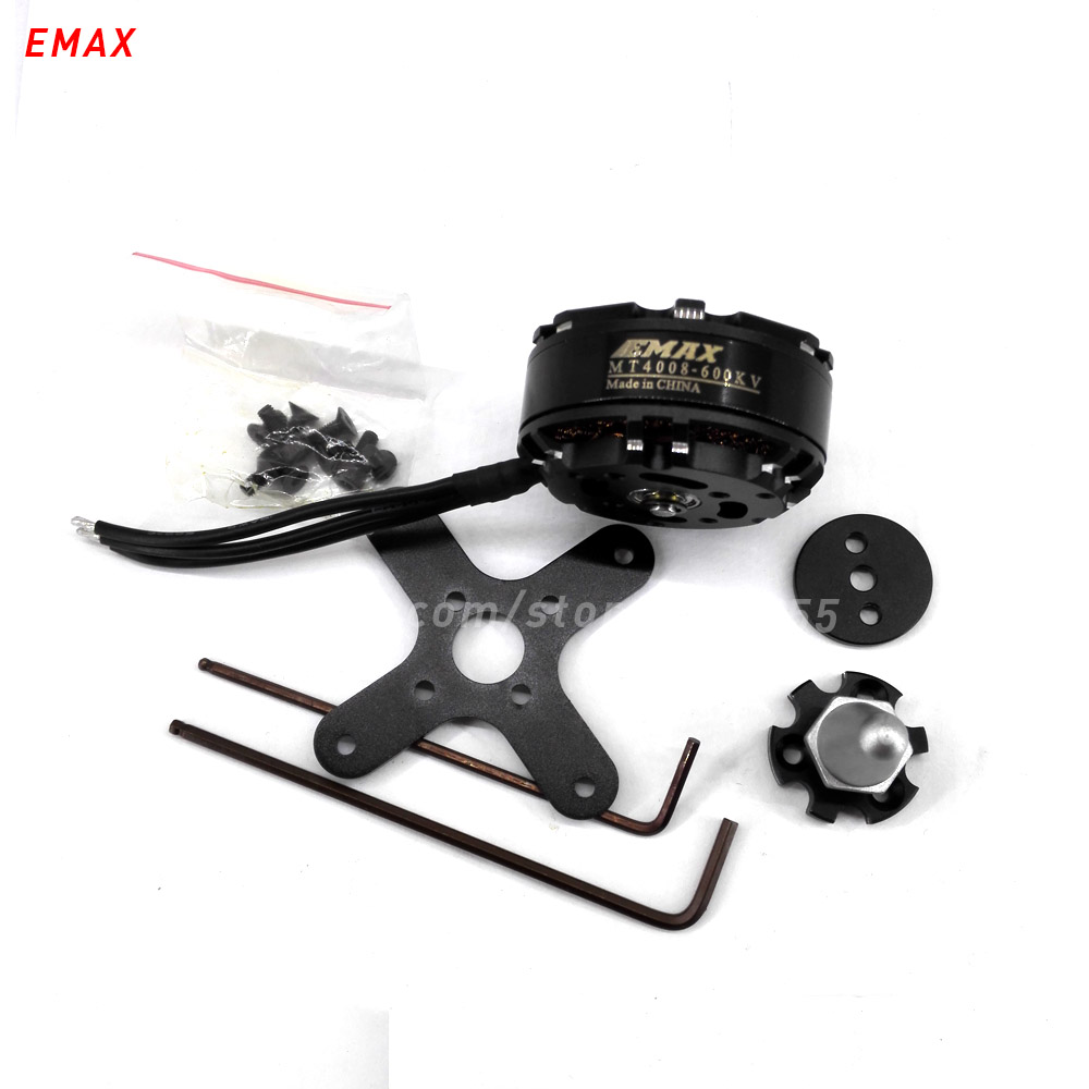 6pcs(3CW+3CCW) EMAX MT4008 rc quadcopter brushless motor 470kv 600kv multi axis copter 4mm shaft outrunner 46mm for drone parts 2017 dxf sunnysky x2206 1500kv 1900kv outrunner brushless motor 2206 for rc quadcopter multicopter