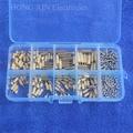 Латунные опоры/винт/Шестигранная гайка набор комплектов с пластиковой коробкой 320 шт.