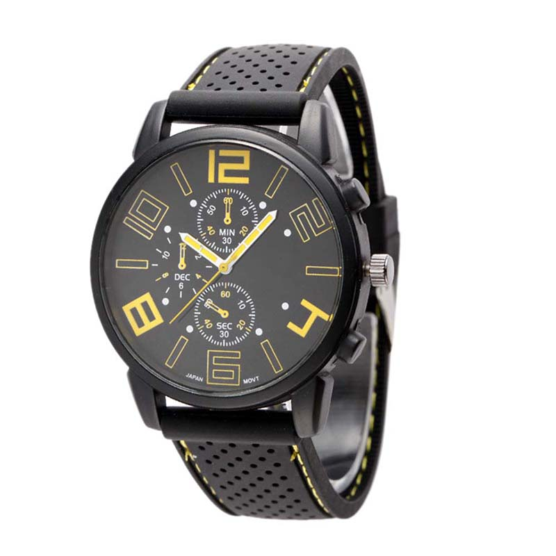 Women's Three Eye Sports Car Concept Watches Relogio Masculino Fashion Sports Men Watch Relogio Feminino