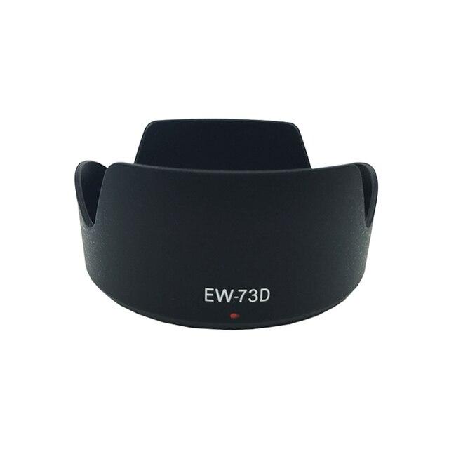 10pcs/lot EW 73D EW73D Petal Baynet camera Lens Hood 67mm thread for CANON EF S 18 135mm F3.5 5.6 IS USM camera