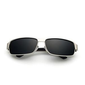 Image 3 - 高品質の正方形サングラス偏駆動なサングラス男性送料無料 UV400 HD 快適なサングラス男性