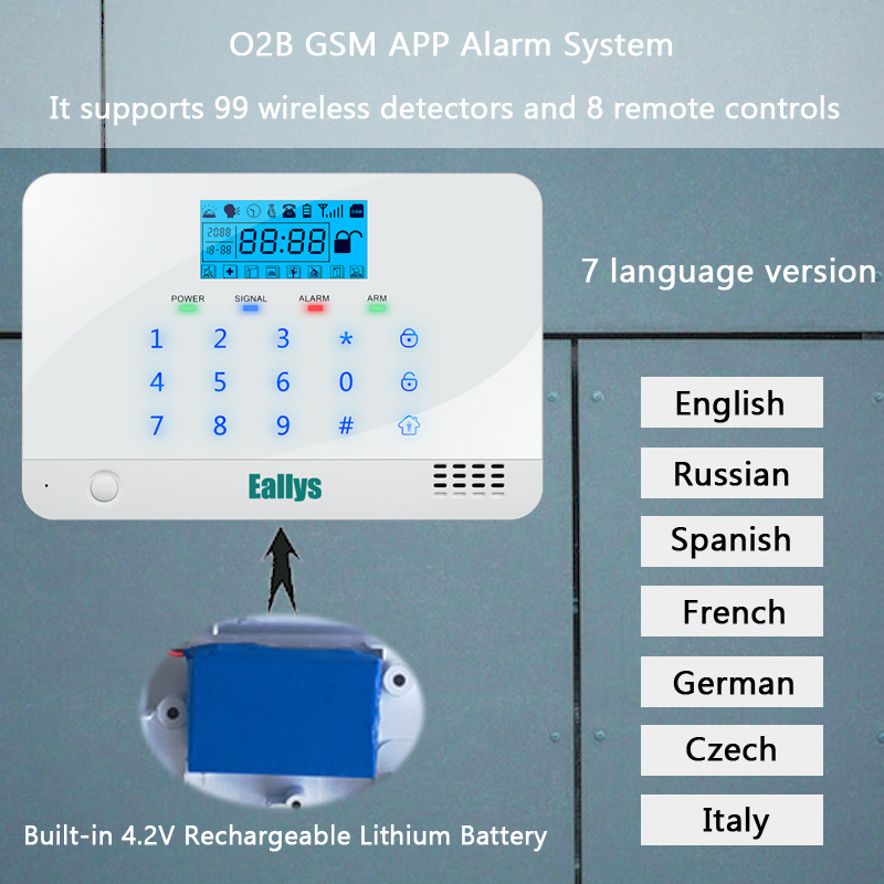 Aliexpress.com : Buy APP Control Wireless SMS Home GSM Alarm system ...
