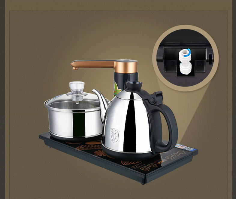 Full intelligent water purifier edition automatic electric kettle Anti-dry ProtectionFull intelligent water purifier edition automatic electric kettle Anti-dry Protection